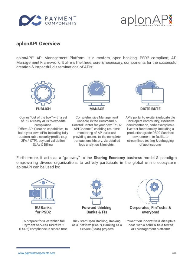 Why you will choose the aplonAPI™ platform, to empower your Open banking project! Slide 3