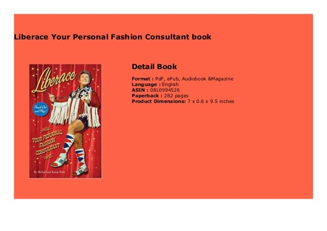 Liberace Your Personal Fashion Consultant Book 471