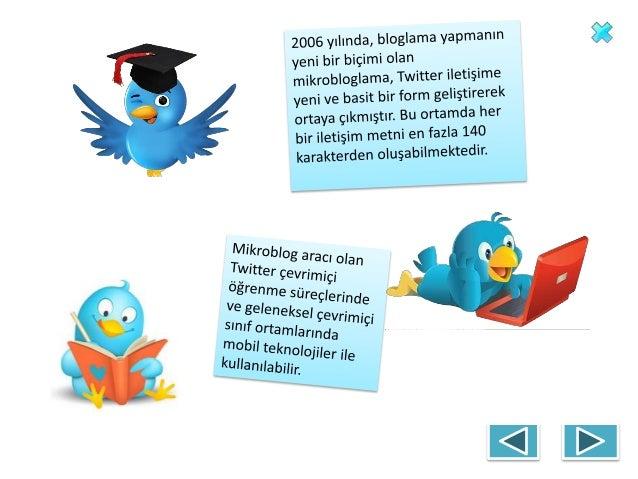 Twitter'in Eğitimde Kullanımı Slide 3