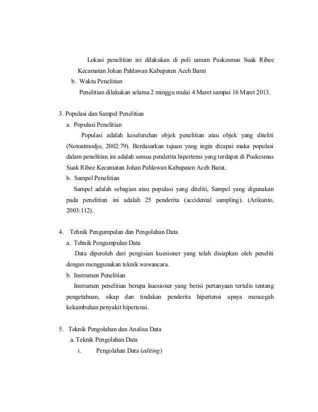 171326626 Gambaran Pengetahuan Sikap Dan Tindakan Penderita Hipertens
