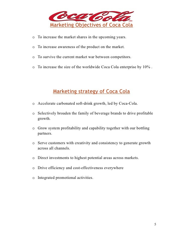 Coca cola key advertising problems to be solved