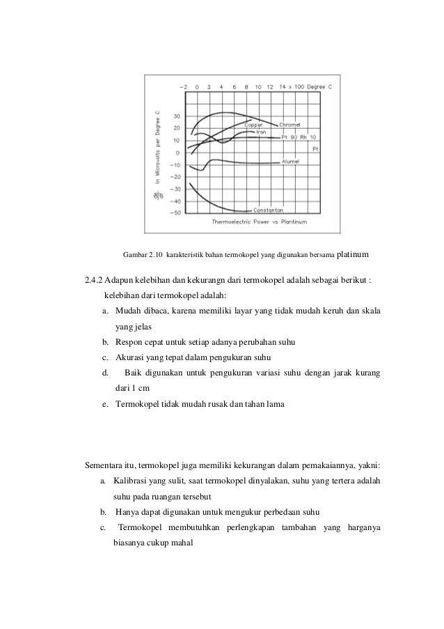 Makalah termokopel 12 gambar 210 karakteristik bahan termokopel ccuart Images