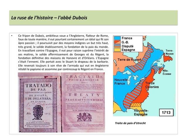 La ruse de l'histoire – labbé Dubois • Ce fripon de Dubois, ambiWeux voue a l'Angleterre, fl...