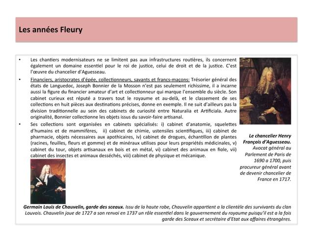 Les années Fleury • Les  chanWers  modernisateurs  ne  se  limitent  pas  aux  infrastructures  r...
