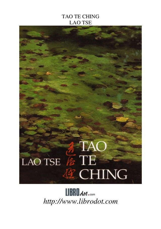 TAO TE CHING       LAO TSEhttp://www.librodot.com