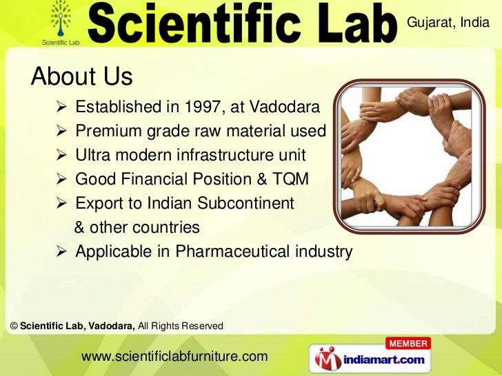 Laboratory Furnitures by Scientific Lab Vadodara Vadodara Slide 2