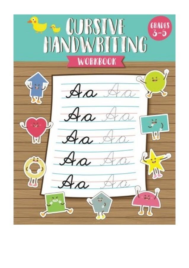 Cursive Handwriting Workbook PDF - Natalie Cursive Handwriting Book F…
