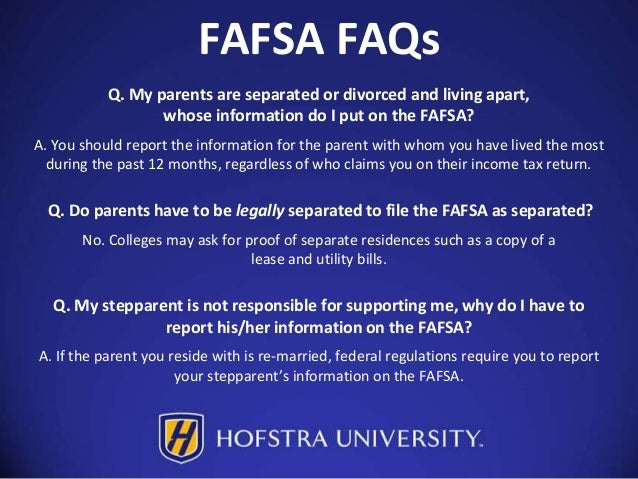 Reporting stock options on fafsa