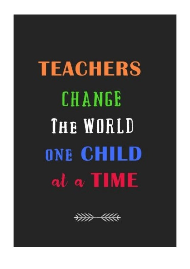 teachers change the world one child at a time pdf arts and crafts a