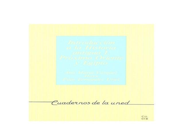 Detail Book Title : Introducci�n a La Historia Antigua I Pr�ximo Oriente y Egipto CUADERNOS UNED Format : PDF,kindle,epub ...