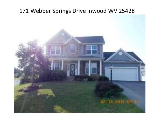 171 Webber Springs Drive Inwood WV 25428