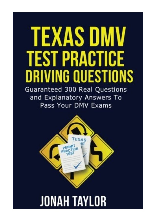 texas dmv questions and answers