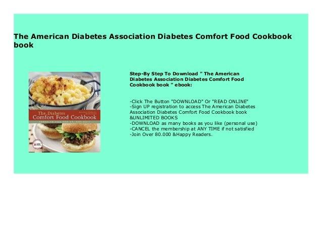 The American Diabetes Association Diabetes Comfort Food Cookbook book 8439 Slide 3