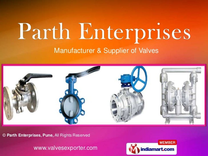 Manufacturer & Supplier of Valves© Parth Enterprises, Pune, All Rights Reserved                www.valvesexporter.com