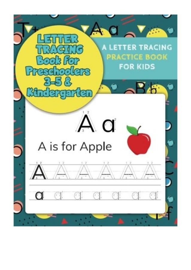 Letter Tracing Book for Preschoolers 3-5 & Kindergarten ...