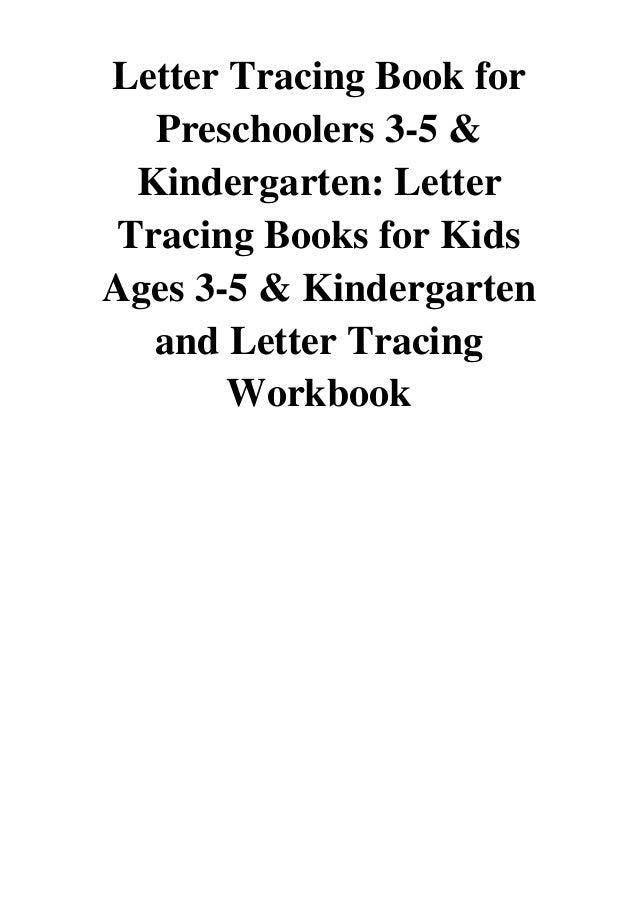 Letter Tracing Book For Preschoolers 3 5 Kindergarten Pdf Letter