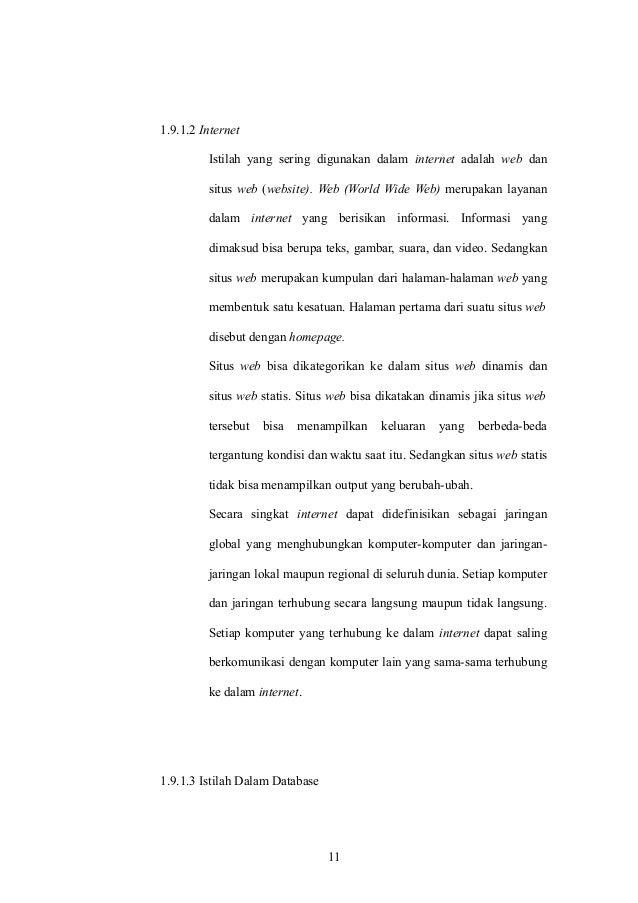 Proposal Skripsi Penerapan E Learning Stmik Amikom Purwokerto