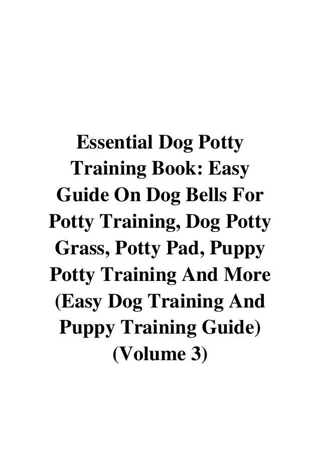 Essential Dog Potty Training Book PDF - Charlie Smith Easy