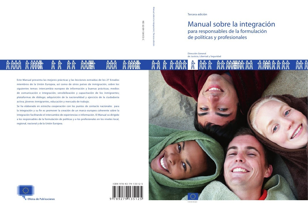 Tercera edición   Manual sobre la integración para responsables de la formulación de políticas y profesionales  Dirección ...