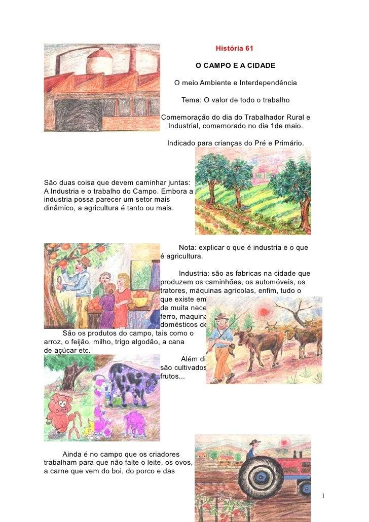 História 61                                                   O CAMPO E A CIDADE                                          ...