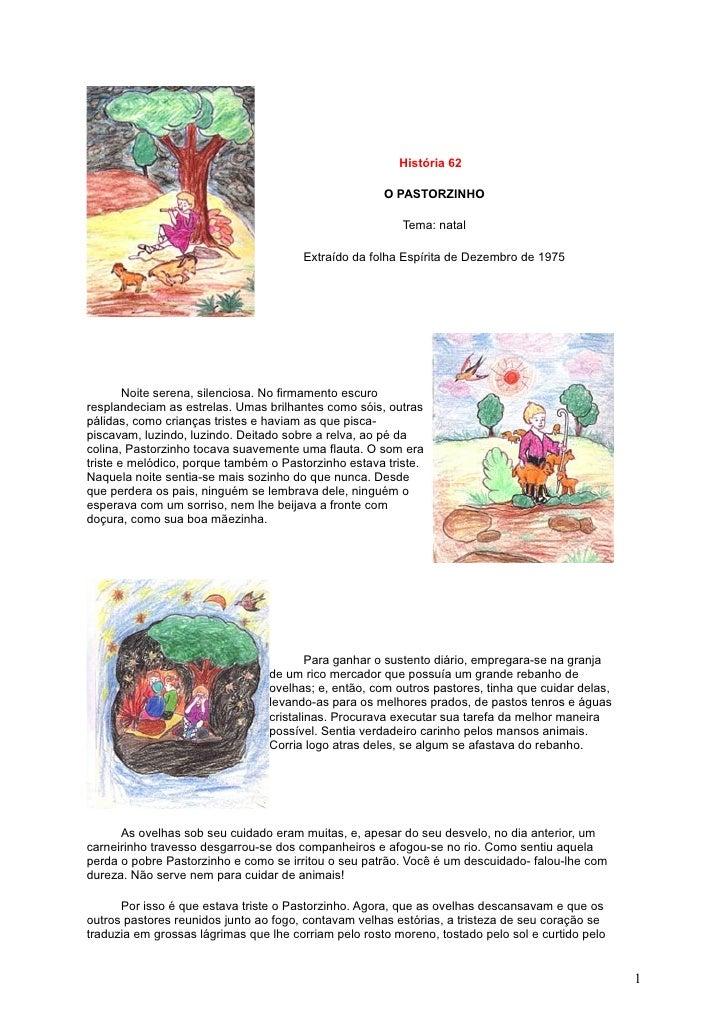 História 62                                                        O PASTORZINHO                                          ...