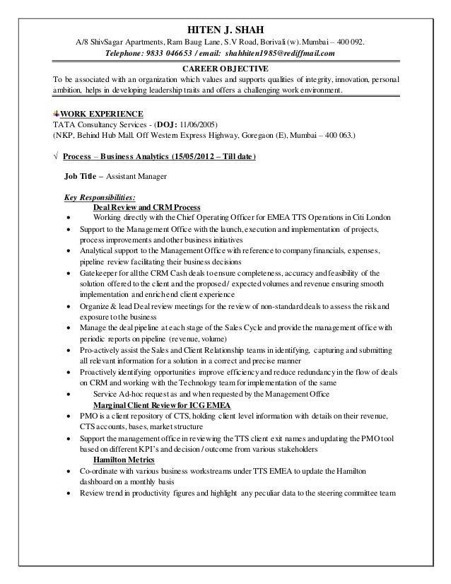 Resume Hiten Shah new