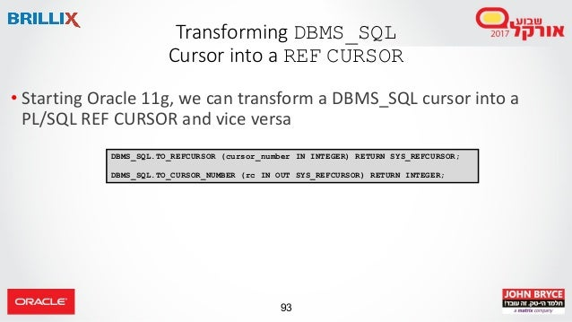 PL/SQL New and Advanced Features for Extreme Performance