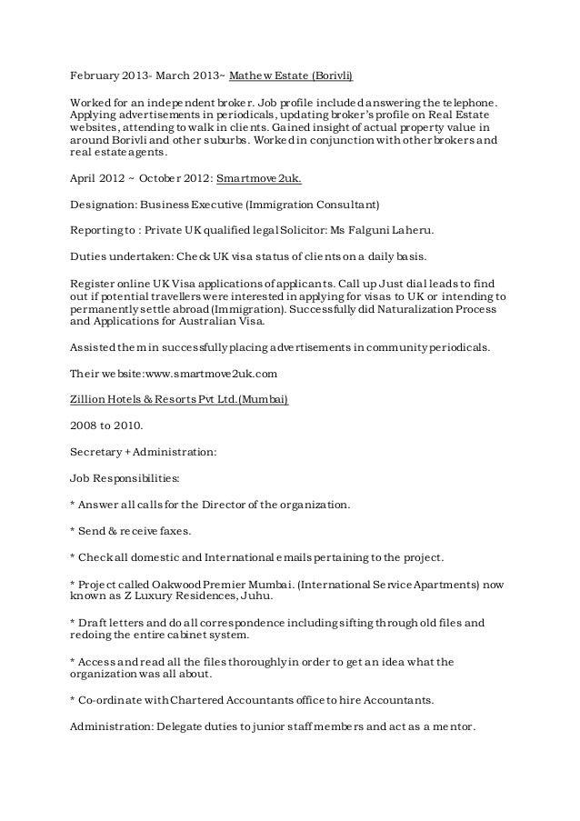 3 - Draft Curriculum Vitae