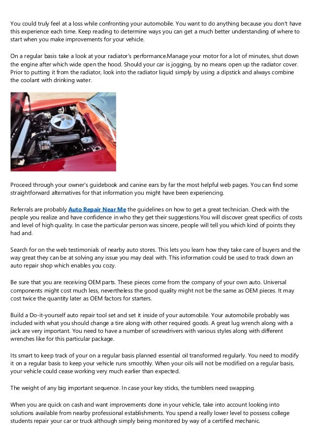 Auto Maintenance Tips To Help You