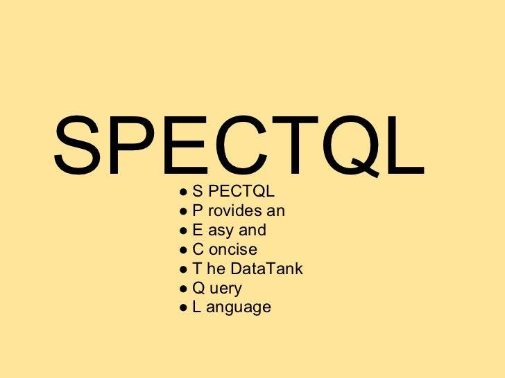 SPECTQL  ● Aanspreekbaar via URL  ● De 5 functies  ● Al op data.irail.be/spectql  ● alpha  ● Real-time data  ● Semantiek