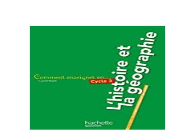 Detail Book Title : Comment enseigner lhistoiregographie au cycle 3 Format : PDF,kindle,epub Language : English ASIN : 2.0...