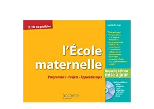 Detail Book Title : Lcole maternelle programmes projets apprentissages CD Format : PDF,kindle,epub Language : English ASIN...