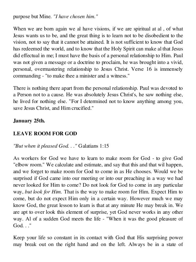 Complete Works Of Oswald Chambers pdf