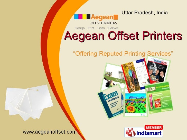 "Aegean Offset Printers "" Offering Reputed Printing Services"""