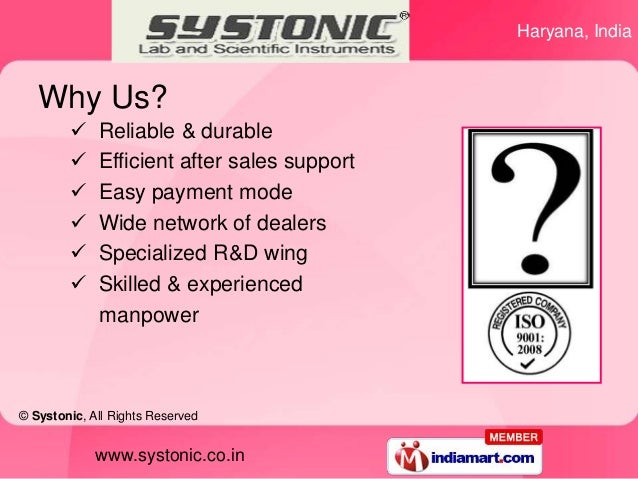 Haryana, India   Why Us?            Reliable & durable            Efficient after sales support            Easy payment...
