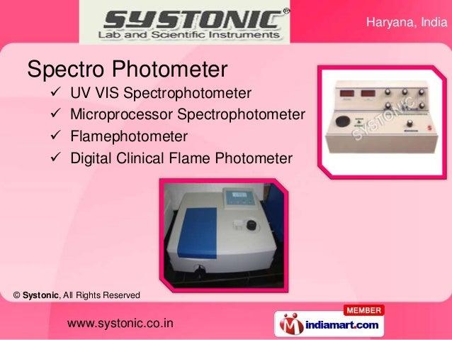 Haryana, India   Spectro Photometer            UV VIS Spectrophotometer            Microprocessor Spectrophotometer     ...