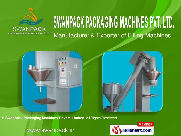 Manufacturer & Exporter of Filling Machines© Swanpack Packaging Machines Private Limited, All Rights Reserved