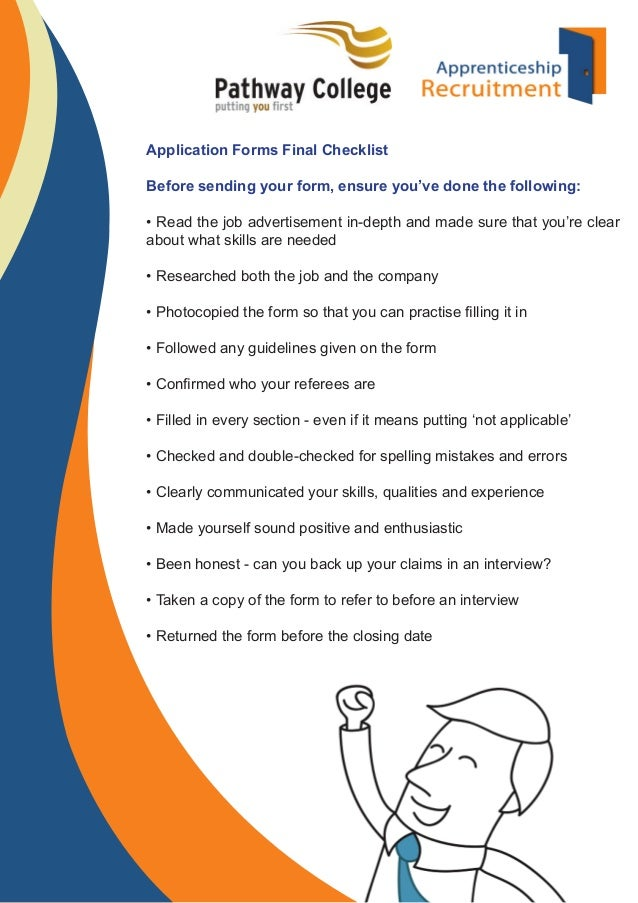 Job Application Forms - Questions & Answers Guide