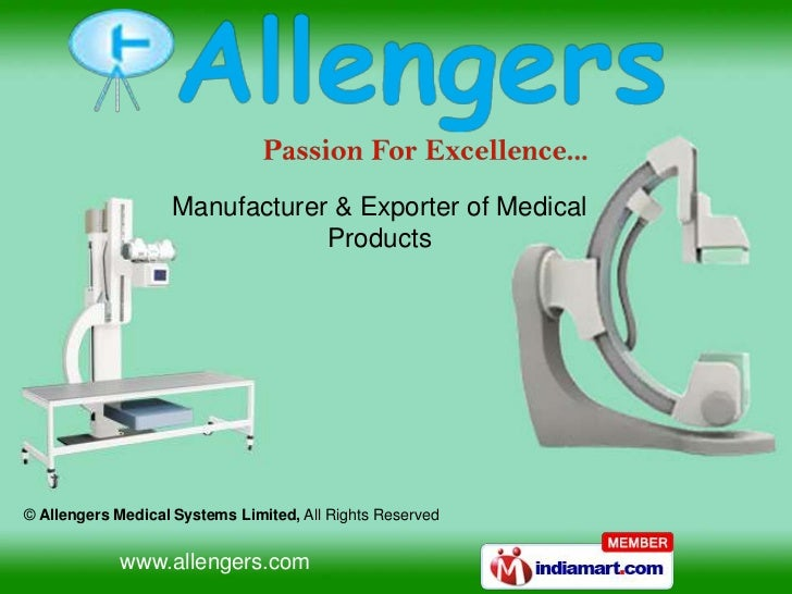 Manufacturer & Exporter of Medical                               Products© Allengers Medical Systems Limited, All Rights R...