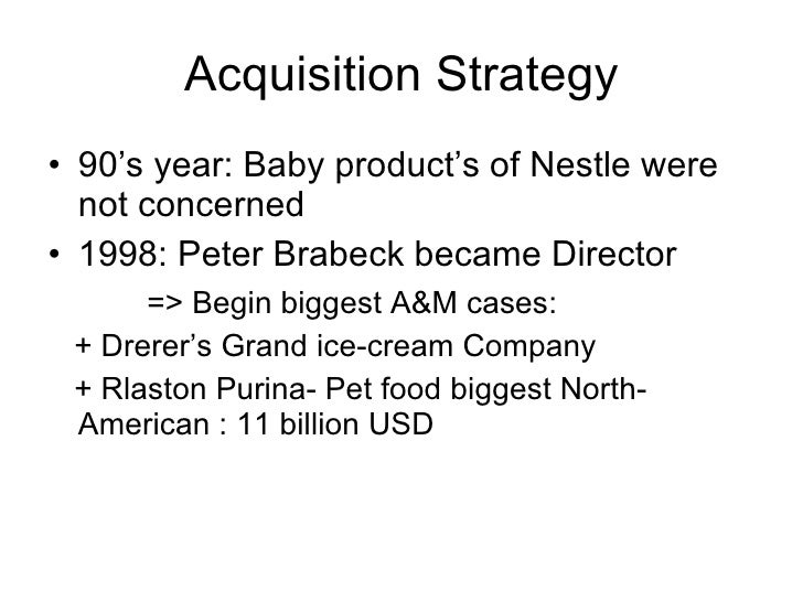 grand strategy for nestle As their main growth strategy nestle used the acquisition method which is when  efe matrix, ife matrix, swot matrix, space matrix, bcg matrix, grand strategy.