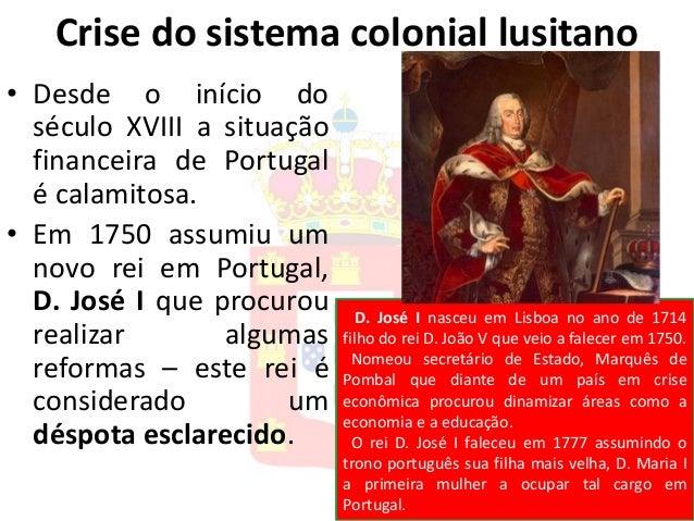 175 abcdefghi brasil colonial 1750 1801 crise na produção ...