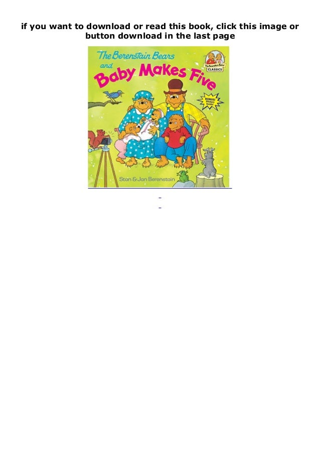 The Berenstain Bears' Trouble With Money PDF Free Download