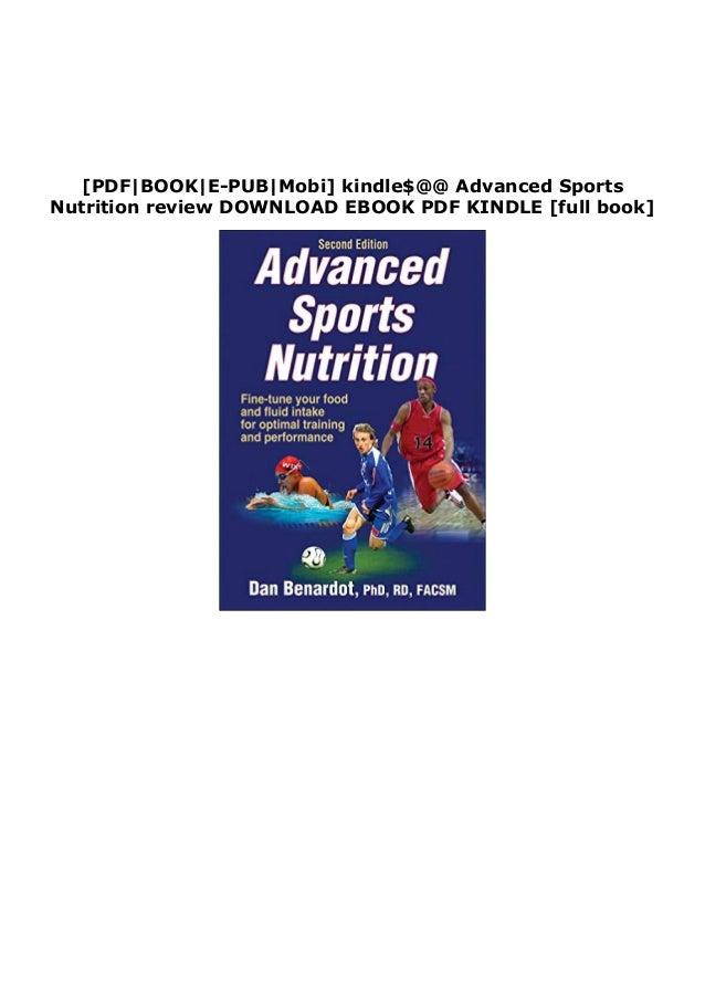 [PDF BOOK E-PUB Mobi] kindle$@@ Advanced Sports Nutrition review DOWNLOAD EBOOK PDF KINDLE [full book]