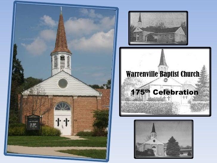 Warrenville Baptist Church<br />175th Celebration<br />