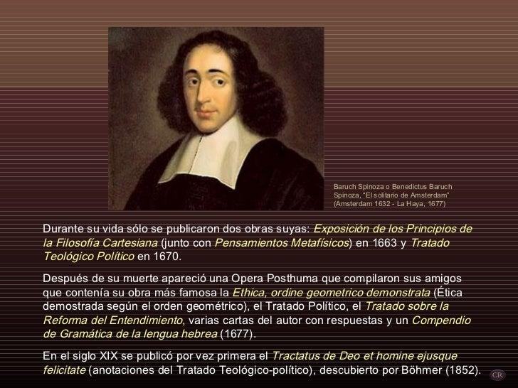 Baruch De Spinoza Por Carlitosrangel