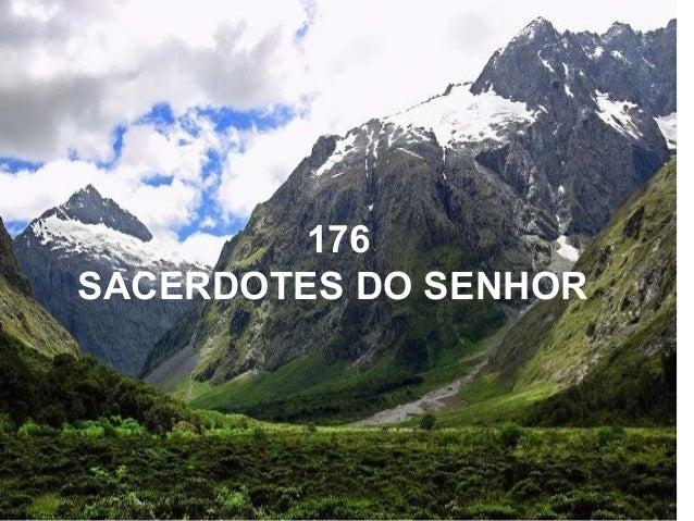 176 SACERDOTES DO SENHOR