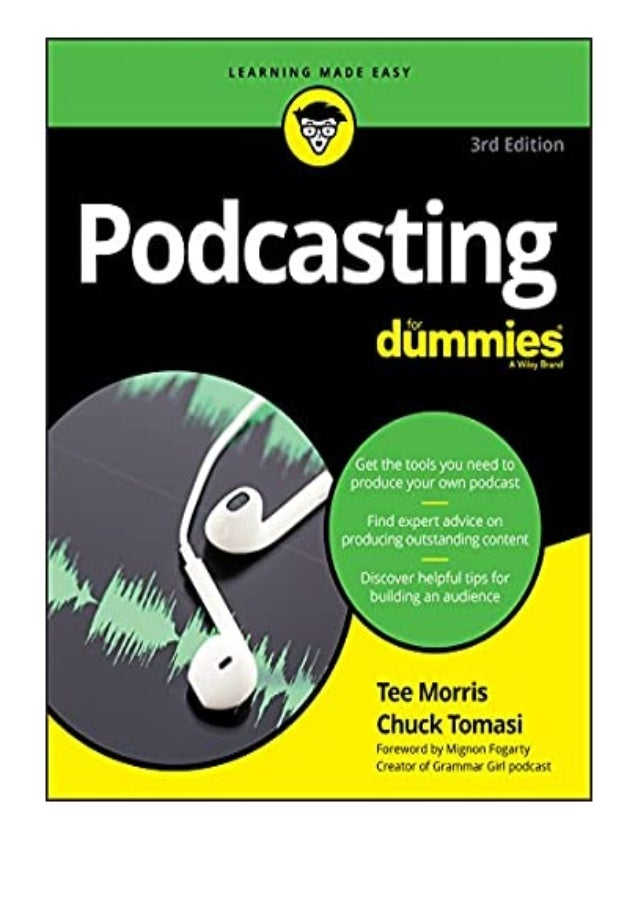 [PDF BOOK E-PUB Mobi] [download]_p.d.f))^@@ Podcasting For Dummies For Dummies Computer/Tech review DOWNLOAD EBOOK PDF KIN...