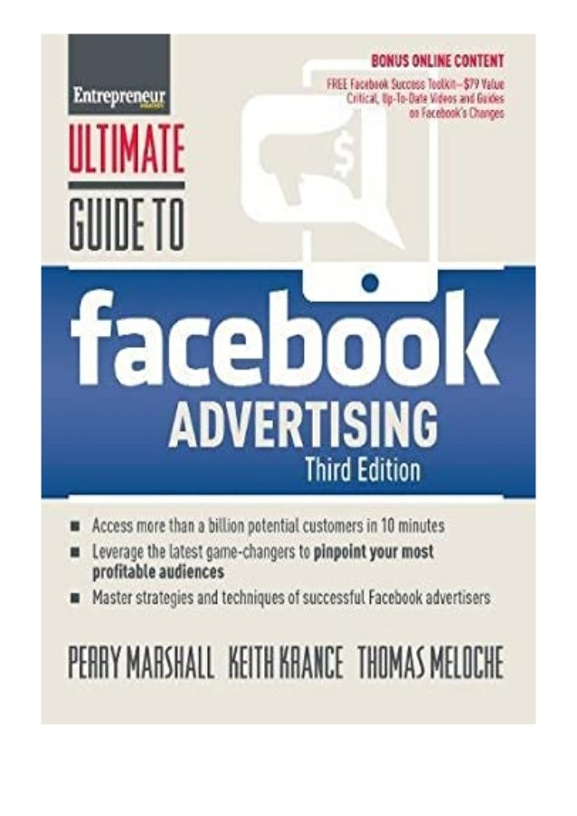 [PDF|BOOK|E-PUB|Mobi] download_p.d.f Ultimate Guide to Facebook Advertising How to Access 1 Billion Potential Customers in...