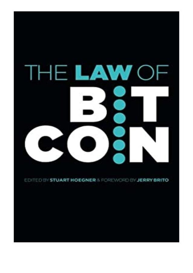 [PDF BOOK E-PUB Mobi] ^^Download_[Epub]^^@@ The Law of Bitcoin review DOWNLOAD EBOOK PDF KINDLE [full book] Description Bo...
