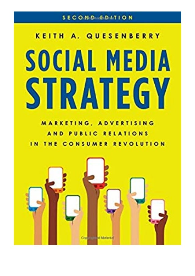 [PDF|BOOK|E-PUB|Mobi] ((P.D.F))^^@@ Social Media Strategy Marketing, Advertising, and Public Relations in the Consumer Rev...